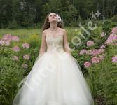 Layer skirt, Dupioni Sweetheart Bodice