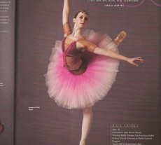Pointe Magazine Oct/ Nov 2008 Stylish Imaginations